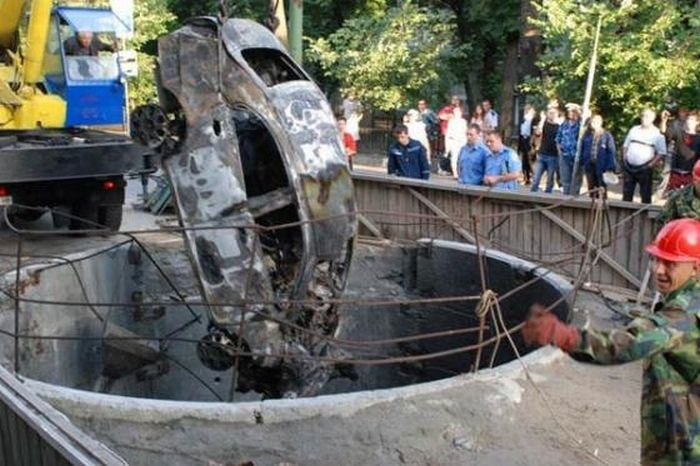 Terrible car accident (6 pics)