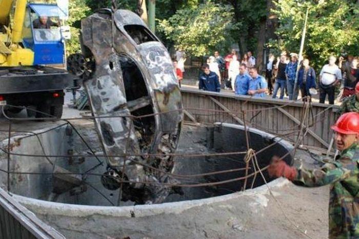 Terrible car accident (6 pics)