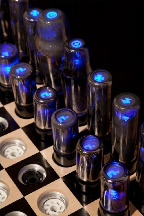 The chess of the future (5 pics)
