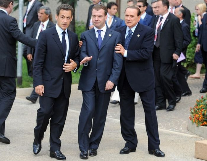 Russian president drunk at G8? (5 pics)