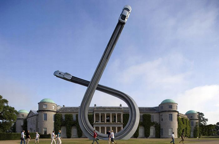 Awesome Audi Centenary Sculpture by Gerry Judah (10 pics)