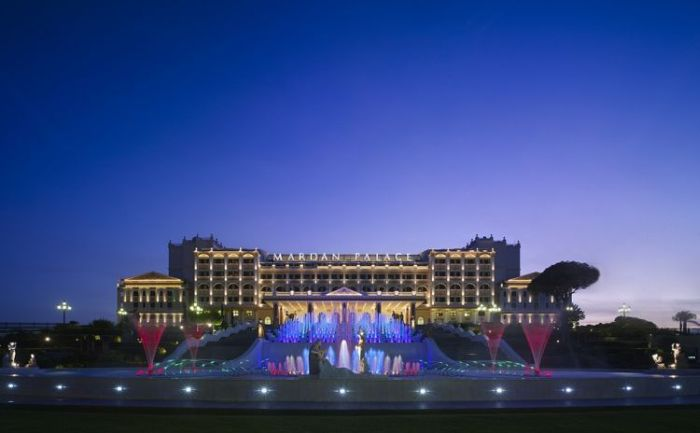 Mardan Palace - luxury hotel in Turkey (34 pics)