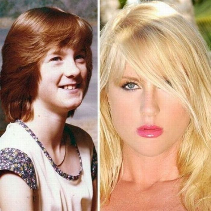 How people change over the years (15 pics)