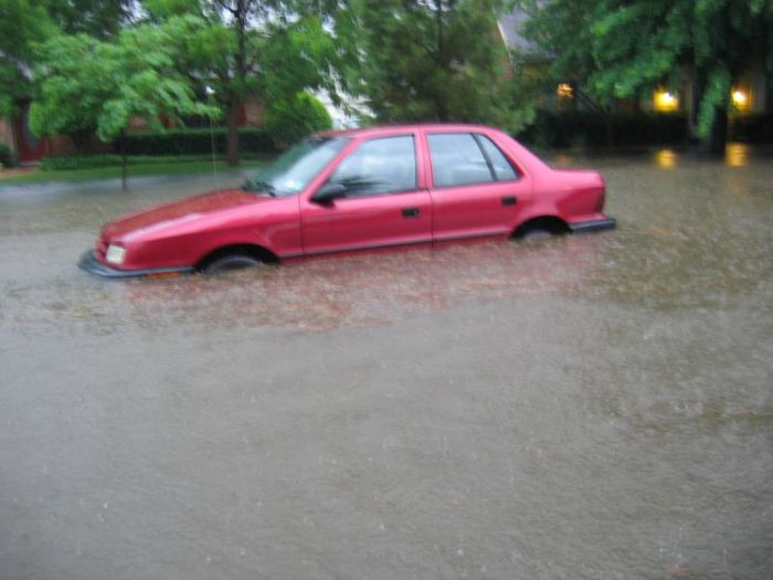 Drowned cars (38 pics)