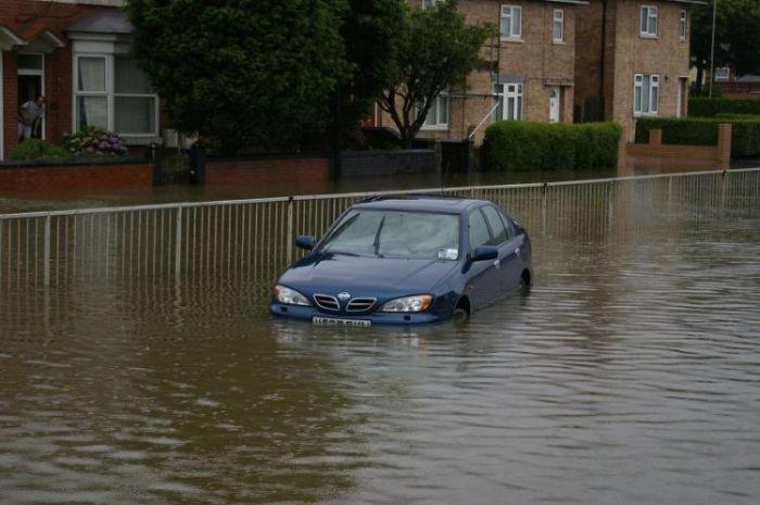 Drowned cars (38 pics)
