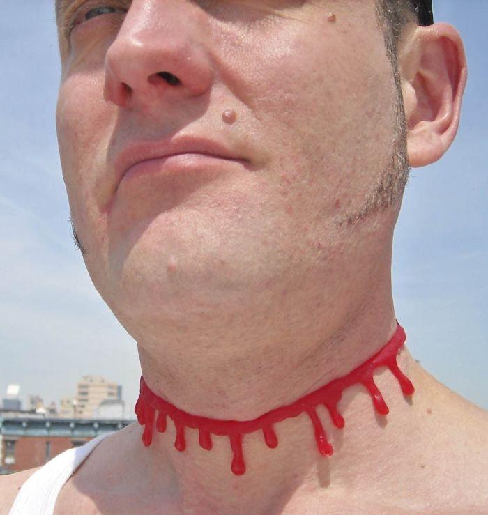 Strange necklaces (25 pics)