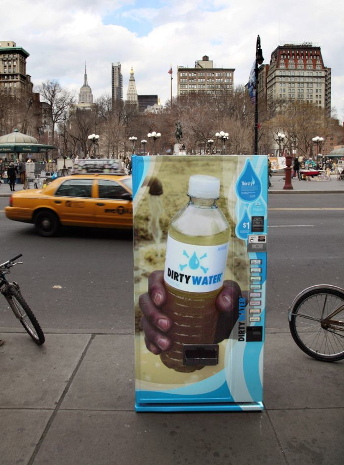 Dirty water in New York (19 pics)