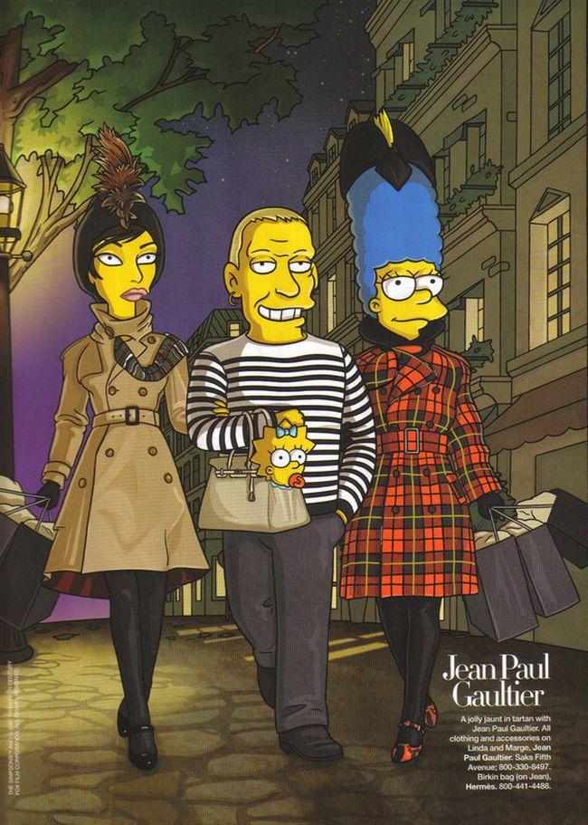 The Simpsons go to Paris (7 pics)