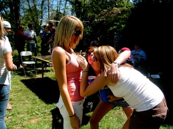 Girls grabbing boobs (66 pics)