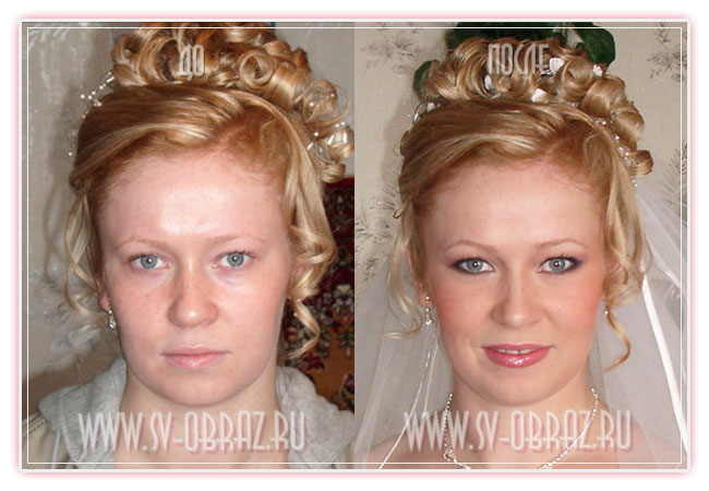 Russian brides before and after makeup (27 pics)