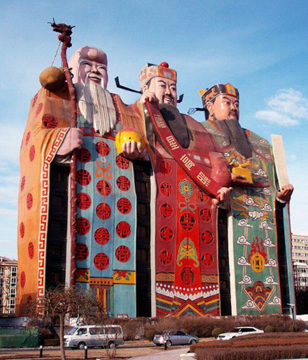 Amazing hotel in China (4 pics)