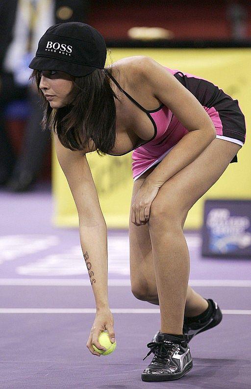 Tennis Ball Girl Porn