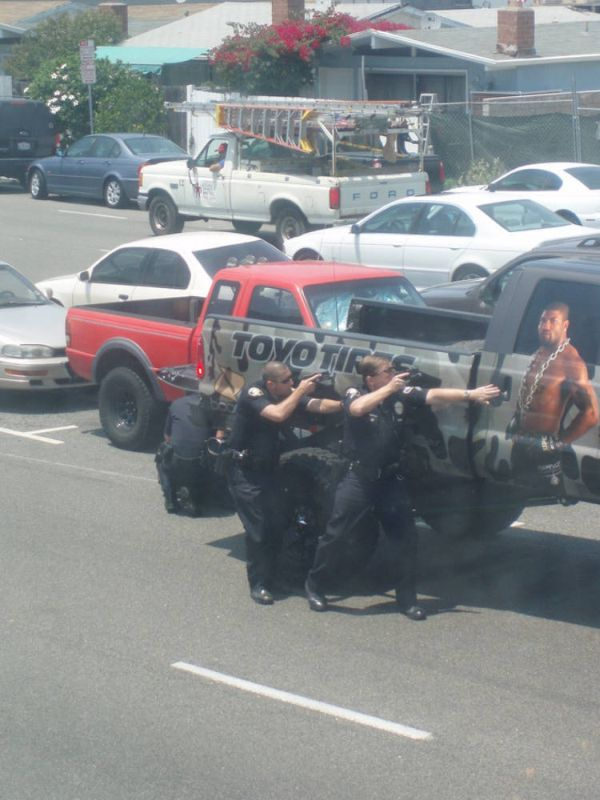 Rampage Jackson arrested  (10 pics)