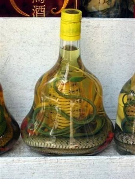 Snake liquors (17 pics)