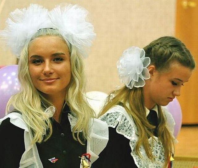 American and Russian graduates (63 pics)