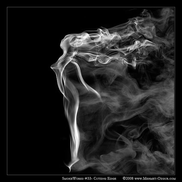 The beauty of smoke (37 pics)