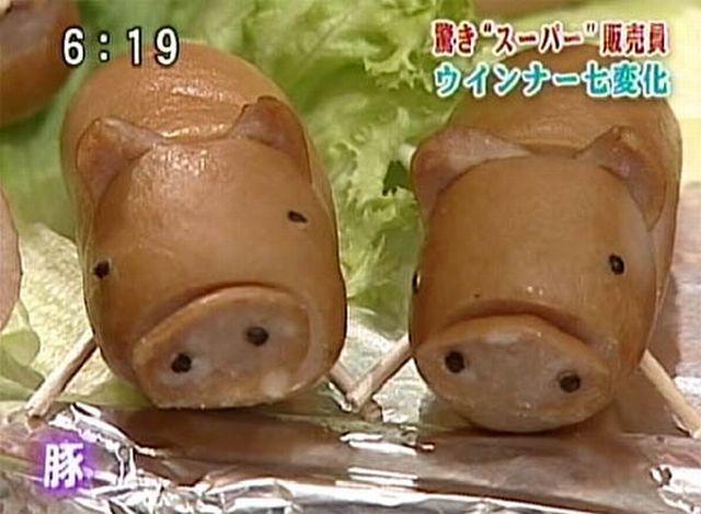 Sausage Art (11 pics)