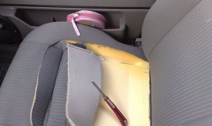 голос).  Вот такую интересную самодельную систему вентиляции сидений в автомобиле придумал один умелец.