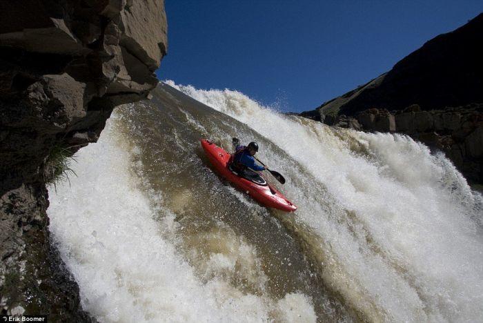 Down the waterfall (3 pics)