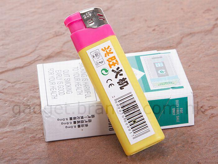 Hidden Camera in a Lighter (6 pics)
