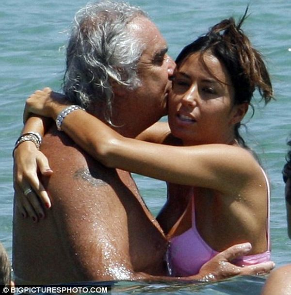 The Formula One boss and his wife (4 pics)
