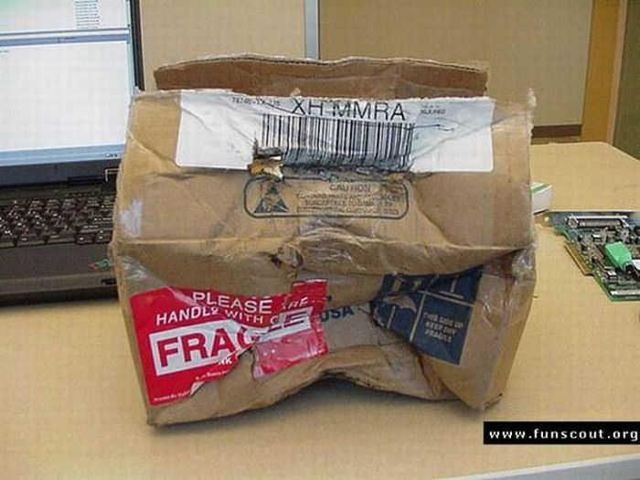 Never order new graphic card via mail (19 pics)