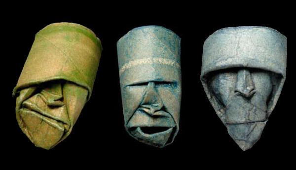 Sculptures Made of Toilet Paper Rolls (8 pics)