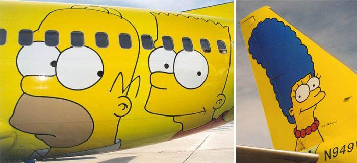 Airplane Paintings (31 pics)