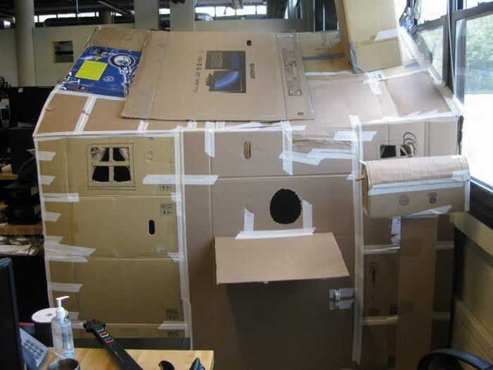 Strange office construction (16 pics)