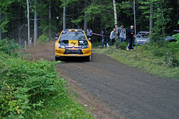 The best car jump at the Neste Rally Finland (15 pics)