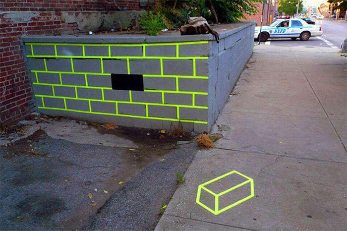 The urban street art by Aakash Nihalani (11 pics)