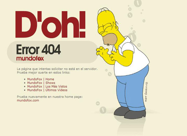 Funny and creative 404 pages  (49 pics)
