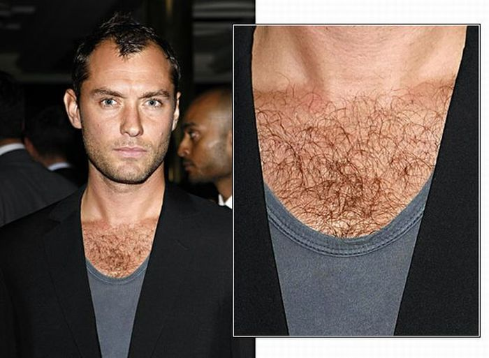 Hairy celebrities (12 pics)