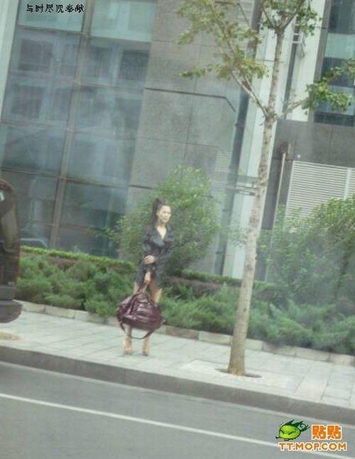A girl in Beijing (4 pics)