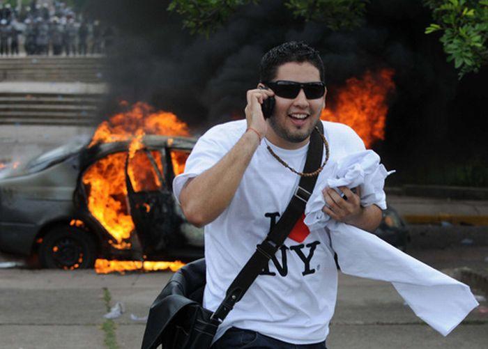 Honduras Riots. Part 2(4 pics)