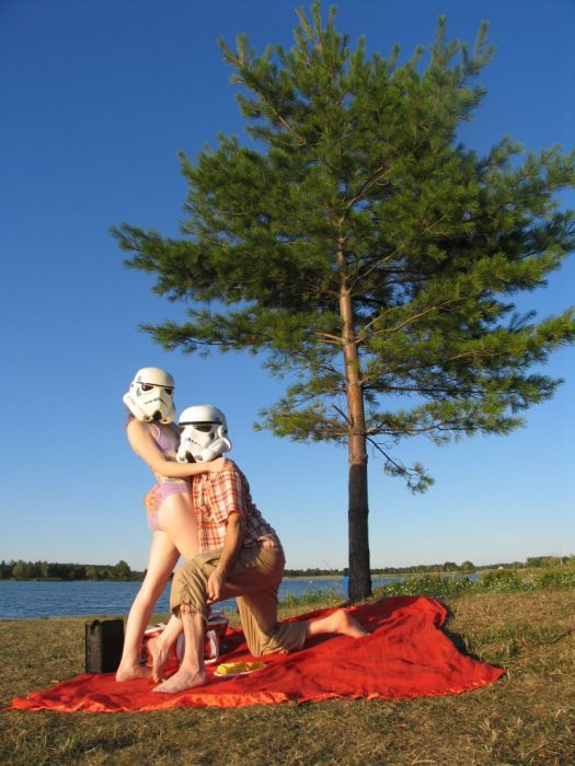 Red and Jonny - Star Wars Fans (102 pics)