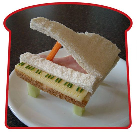 The best sandwich art ever (24 pics)