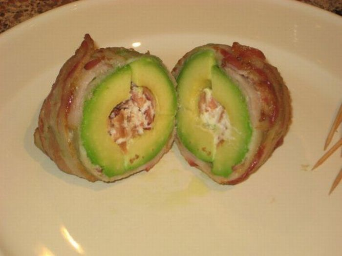 Bacon and avocado snack (9 pics)