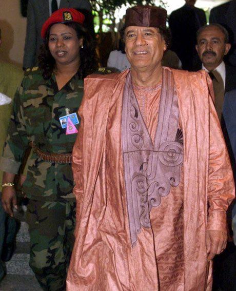 Qaddafi - the trendiest dictator ever (14 pics)