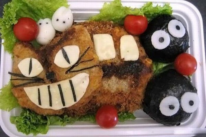 How to make your child eat his lunch (10 pics)