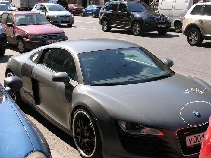 Audi or BMW?  (3 pics)