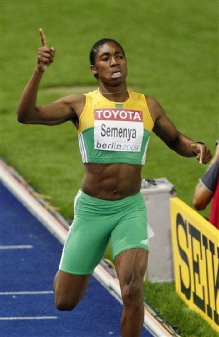 Caster Semenya Mann