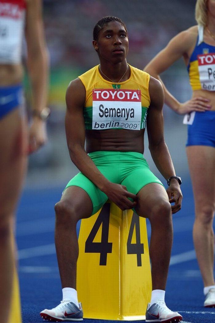 Caster Semenya and male-female controversy  (21 pics)