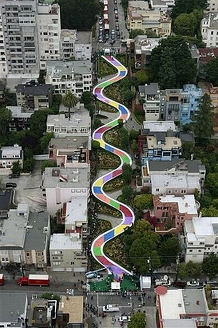 Life-sized Candyland in San Francisco (26 pics)