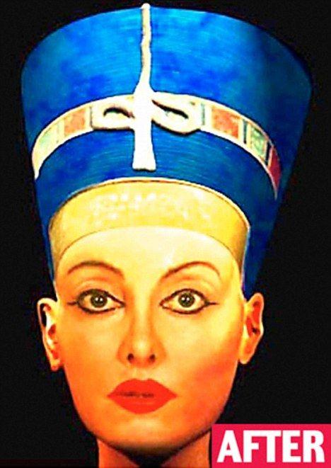 Modern-Day Nefertiti (4 pics)