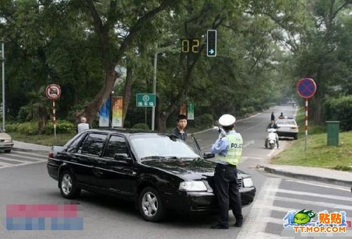 Tough Chinese Cop (12 pics)