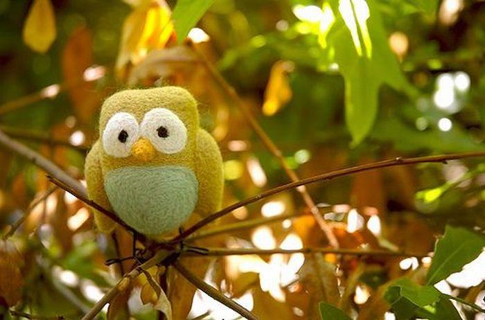 Funny handmade birds (64 pics)
