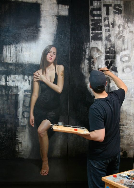 Amazing wall drawings (15 pics)