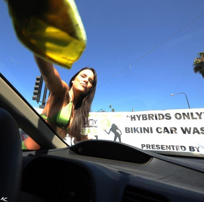 Bikini car wash. Hybrid only.  (21 pics)