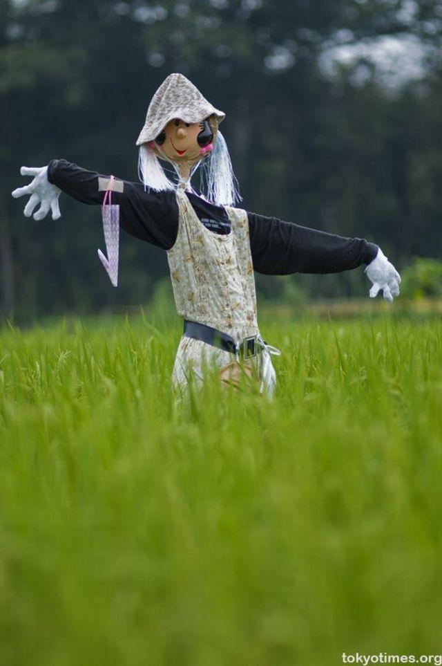 Funny and strange scarecrows (18 pics)